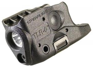 Streamlight TLR-6 Gun Mounted Tactial LED Light And Red Aiming Laser, Glock 26/27/33, 69272 69272