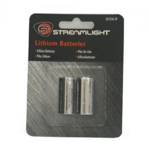 Streamlight 3V Lithium Battery 2/PK 85175
