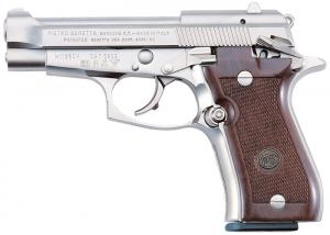 Beretta 85FS Cheetah .380 ACP 3.8-inch 8rds Nickel / Wood J85F212