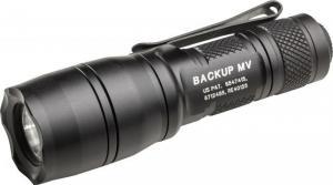 SureFire Backup Dual Output MaxVision Tactical Flashlight, 5-400 Lumens, Black, E1B-MV 084871326162