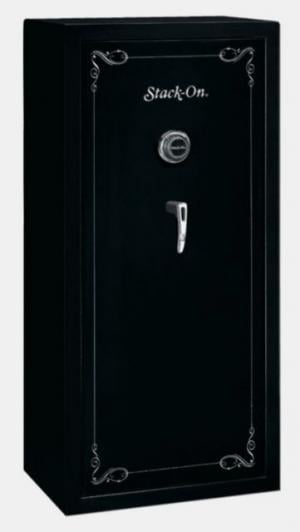 Stack-On 22-Gun Convertible Security Safe w/Combination Lock,26x17.625x55in,Matte Black SS-22-MB-C 085529097229