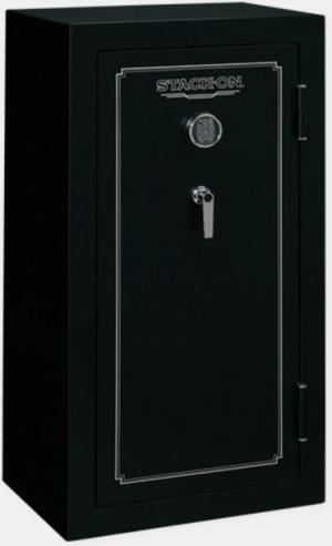 Stack-On 24 Gun Safe w/ Electronic Lock, Matte Black FS-24-MB-E FS24MBE