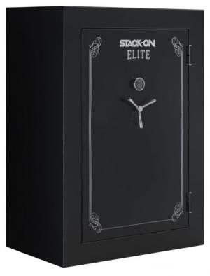 Stack-On 72 in TALL, 62-90 Gun with Electronic Lock,, Matte Black, E-90-MB-E-S-72 085529161760