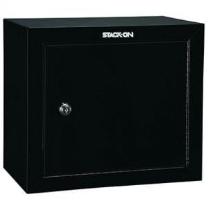 Stack-On GCB-500 Steel Pistol/Ammo Cabinet, Black 085529805008