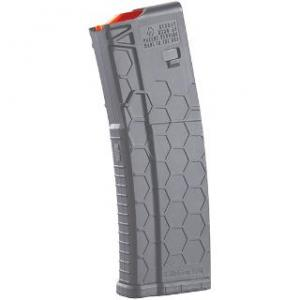 HEXMAG Series 2 Magazine 5.56 Gray 10rd, 30rd body HX1030-AR15S2-GRY