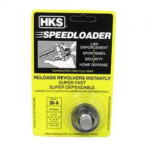 HKS Speedloader 36A Black .38/.357 5Rds 36A