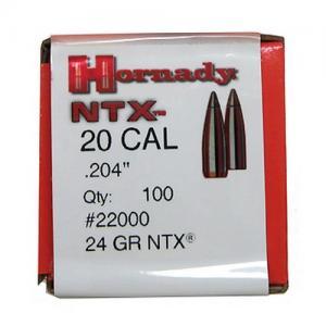 Hornady 22000 Bullets .204 30 NTX 100 090255220001