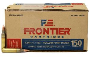 Hornady Hornady Frontier 5.56mm, 55 Grain, Hollow Point, 150 rd/box FR242 FR242