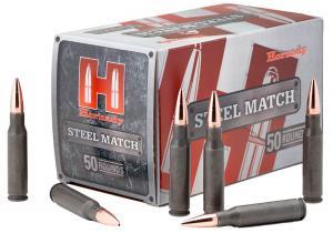 Hornady Steel Match HP 55 Grain Hollow Point Steel .223 Rem 50Rds 80274