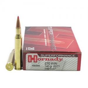 Hornady 80563 270 Winchester 140 SST SF 20rds 80563