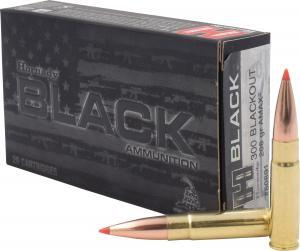Hornady Black 208 Grain A-Max Brass .300 AAC Blackout 20Rds 80891