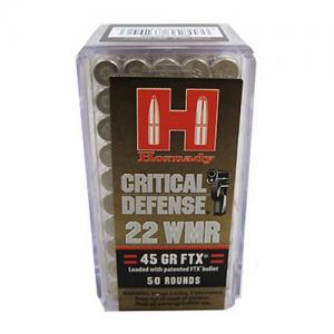 Hornady .22WMR 45 gr FTX Critical Defense 50rd 83200