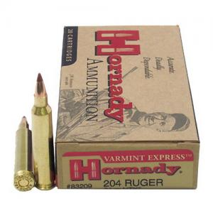 Hornady 204Ruger 24GR NTX 20rds 83209
