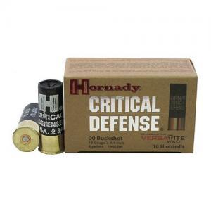 Hornady Critical Defense 12 GA 2.75-inch 00 Buck 10Rds 86240