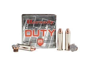 Hornady Critical Duty FlexLock 135 Grain Nickel Plated Brass .357 Mag 25Rds 90511