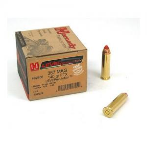 Hornady LEVERevolution .357MAG 140GR FTX 25Rds 92755