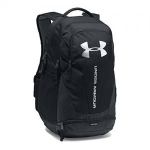 Under Armour Hustle 3.0 Backpack, Black (001)/Silver, One Size 1294720001OSFA