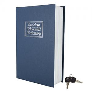 Stalwart A200017 Metal Diversion Dictionary Book Safe w/Key Lock-6 x 9 in, Full Size 191344502043