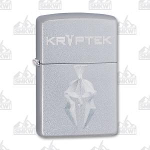 Zippo Kryptek Satin Chrome Lighter 191693145014