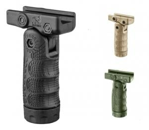 FAB Defense 7-Position Tactical Folding Grip W/Storage Cavity, OD Green 290105945181