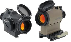 OpticsPlanet Exclusive AimPoint Micro T-2 Red Dot Sight w/LRP Mount and 39mm Spacer, 2 MOA, Flat Dark Earth, 200470 200470
