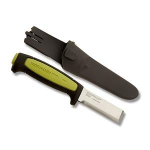 Frosts Mora Morakniv Craft Series Chisel with Polymer Handle and Carbon Steel Blade Model M-12250 M-12250