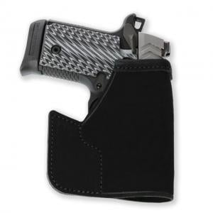 Galco Pocket Protector Holster,SW J Fr 640 Cent 2 1/8in .357,Black,Ambidextrous PRO158B PRO158B