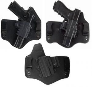 Galco Kingtuk IWB Holster - RH, Black, For Glock 17,19,22,23,26,27, 31,32,33 KT224B KT224B
