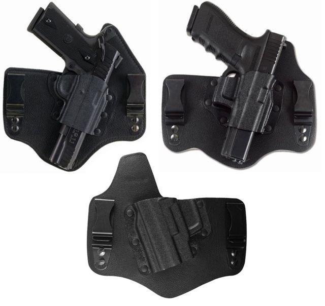 Galco Kingtuk IWB Holster - Right Hand, Black, Springfield XD 3-4 in. KT440B KT440B