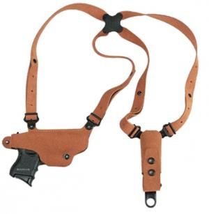 Galco Classic Lite Shoulder System - Right Hand, Natural, Glock 17/19/22/23/31/32 CL224 CL224