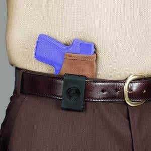 Galco Stow-N-Go Inside The Pant Holster for Beretta Tomcat Diamondback DB380 Kel Tec P32, P3At North American Arms Guardian .32 Ruger LCP,Black,Right STO436B STO436B