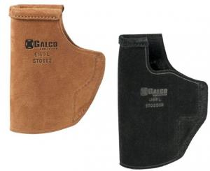 Galco Stow-N-Go Inside The Pant Holster for Springfield XD-S 3.3in/Glock 43,Black,Right STO662B STO662B