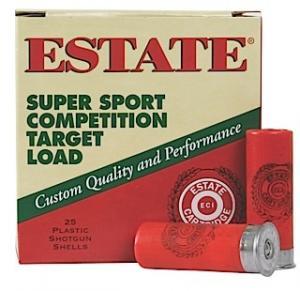 """Estate SS12H Super Sport 12 Gauge 2.75"""" 1-1/8 oz 8 Shot 25 Bx/ 10 Cs 604544250485"""