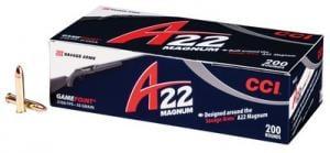 CCI Magnum Gamepoint Rimfire Ammunition 22 WMR, GamePoint, 35 GR 963CC
