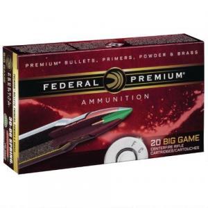 Federal Premium Vital-Shok 6.5 Creedmoor Ammunition 20 Rounds 120 Grain Trophy Copper Polymer Tip P65CRDTC1