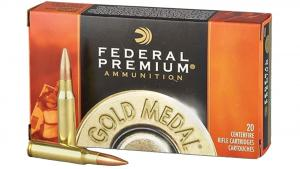 Federal Premium Gold Medal 6.5 Creedmoor 130gr Open Tip Match 20rds GM65CRDBH130