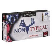 Federal, Non-Typical, .300 Winchester Magnum, SP, 150 Grain, 20 Rounds 300WDT150