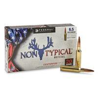 Federal Non Typical Whitetail, 6.5 Creedmoor, SP, 140 Grain, 20 Rounds 65CDT1