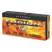 Federal Fusion MSR, .224 Valkyrie, SP, 90 Grain, 20 Rounds F224VLKMSR1