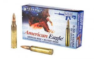 Federal American Eagle 5.56 55 gr Full Metal Jacket Boat Tail XM193X