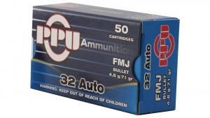PPU 32ACP 71GR FMJ 605003800026