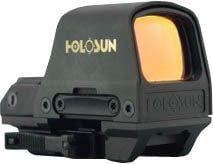 Holosun Circle Dot Open Reflex Sight,2 MOA Dot,65 MOA Circle,91x65x40mm,Black HS510C HS510C