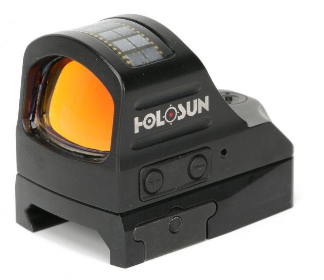 Holosun Micro Red Dot System, 2 MOA Dot/32 MOA Ring, Black, HS507C 605930624724