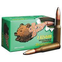 Brown Bear, 7.62x54mmR, SP, 203 Grain 607094860327