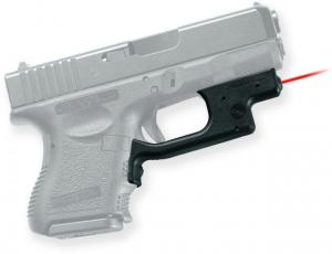 Crimson Trace Laserguard Sight, Black - Compact For Glock 19/23/25 and Similar LG436 LG436