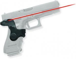 Crimson Trace Lasergrip w/ Front Activation, Black - For Glock 17/19 - LG417 LG417