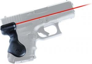 Crimson Trace Lasergrip, Black - Gen 3 Sub-Compact For Glock 26/27/28/33/39 - LG-626 610242003730
