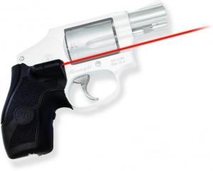 Crimson Trace Lasergrip Sight, Black, Smith and Wesson J-Frame Round Butt, LG405 LG405