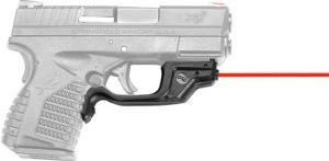 Crimson Trace LaserGuard Laser Sight for Springfield XD-S, Front Activation, Black, LG-469 LG469