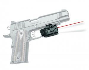 Crimson Trace Rail Master Pro - Universal Rail Mount Laser-LED Combo, Black, Red Laser CMR-205 CMR205